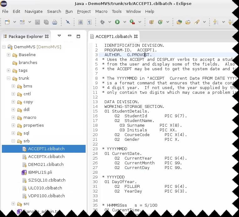 Editors (Mainframes and DevOps)